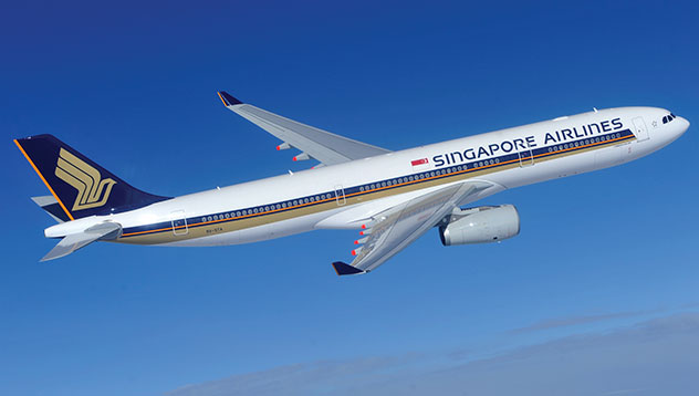Singapore Airlines Milano – Singapore A350