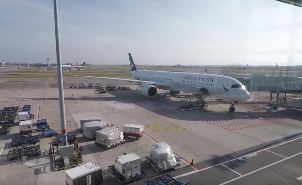 Cathay Pacific Singapore – Hong Kong Boeing 777